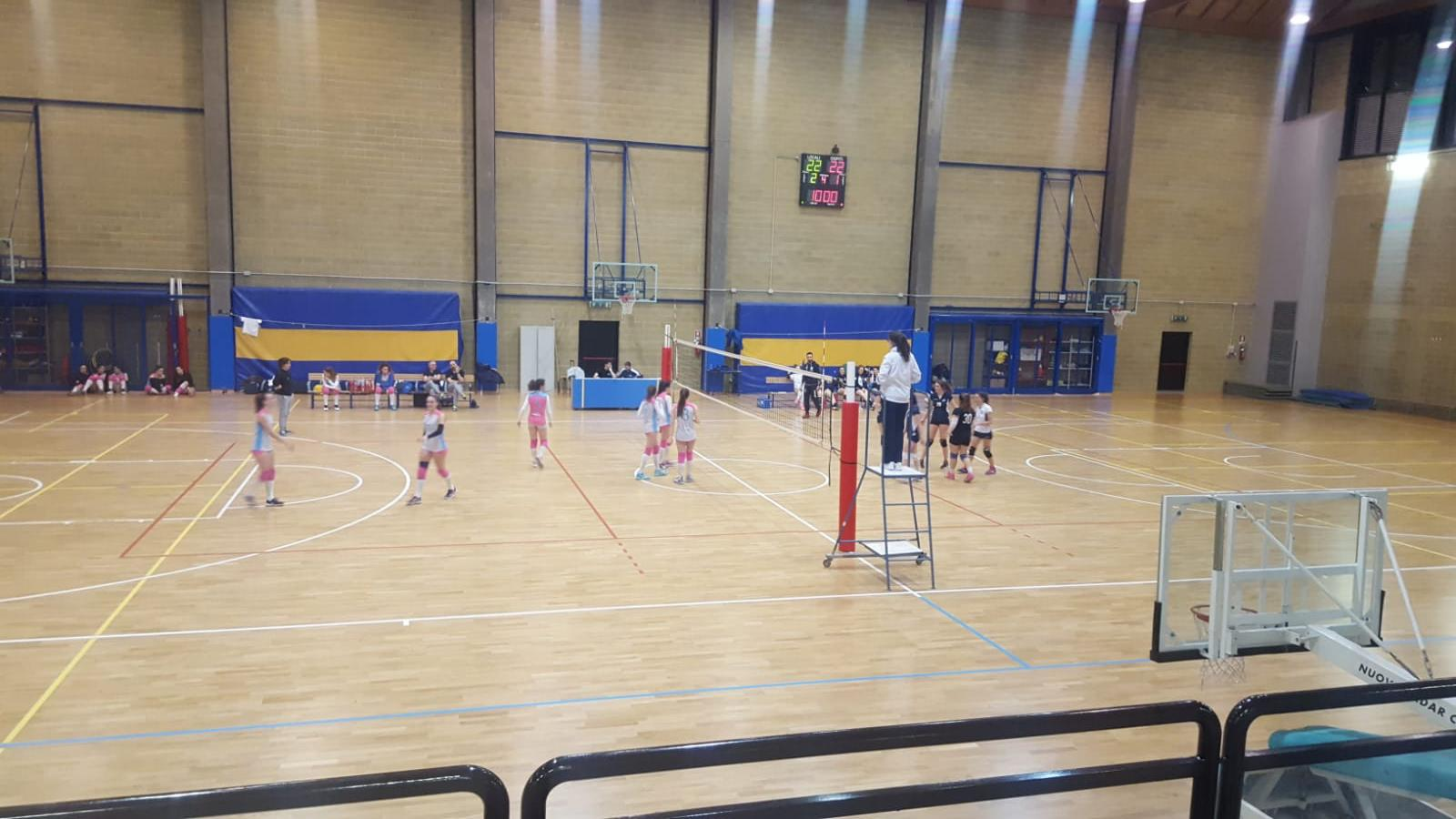 II cat fem volley cus